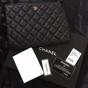 Black Chanel Clutch